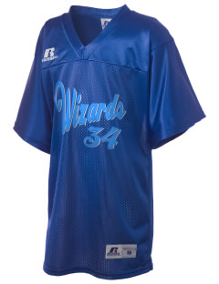 Winsor Hill Elementary School Wizards Russell Kid's Replica Football Jersey