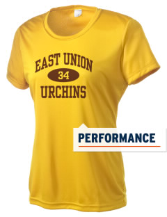 East Union Attendance Center Urchins Women's Competitor Performance T-Shirt