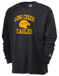 Long Creek Elementary School Eagles  Russell Men's Long Sleeve T-Shirt