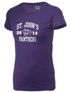 Saint John's Lutheran School Panthers  Russell Women's Campus T-Shirt