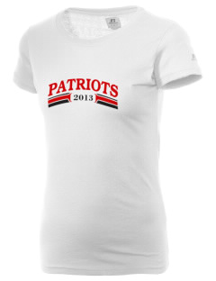 Heritage Christian School Patriots  Russell Women's Campus T-Shirt