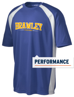 Brawley Middle School Tigers Men's Dry Zone Colorblock T-Shirt