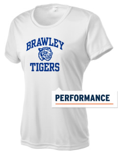 Brawley Middle School Tigers Women's Competitor Performance T-Shirt