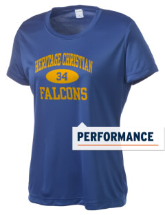 Heritage Christian School Falcons Women's Competitor Performance T-Shirt