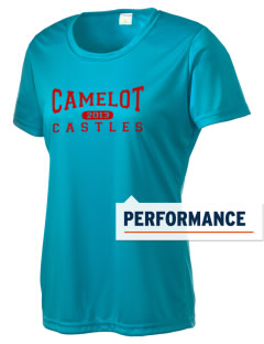 Camelot School Castles Women's Competitor Performance T-Shirt