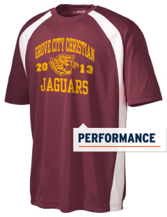 Grove City Christian School Jaguars Men's Dry Zone Colorblock T-Shirt