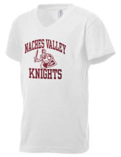 Naches Valley Middle School Knights Kid's V-Neck Jersey T-Shirt