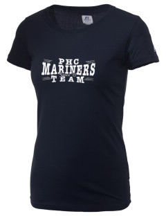 Pacific Harbor Christian School Mariners  Russell Women's Campus T-Shirt