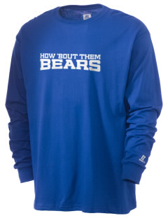 Kiona Benton City High School Bears  Russell Men's Long Sleeve T-Shirt
