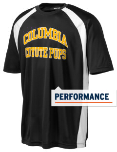 Columbia Elementary School Coyote Pups Men's Dry Zone Colorblock T-Shirt