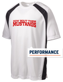 James McGee Elementary School Mustangs Men's Dry Zone Colorblock T-Shirt