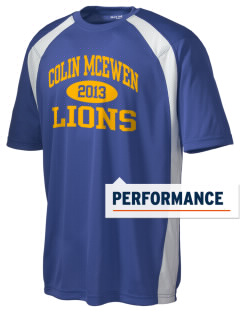 Colin McEwen High School Lions Men's Dry Zone Colorblock T-Shirt