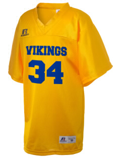 Mid Valley Learning Center Vikings Russell Kid's Replica Football Jersey