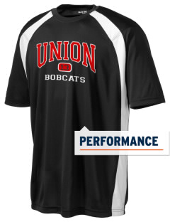 Union High School Bobcats Men's Dry Zone Colorblock T-Shirt