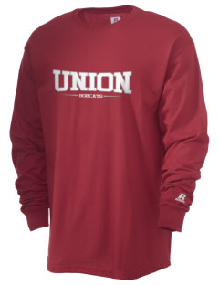 Union High School Bobcats  Russell Men's Long Sleeve T-Shirt