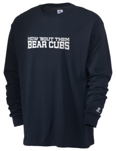 Belmont Elementary School Bear Cubs  Russell Men's Long Sleeve T-Shirt