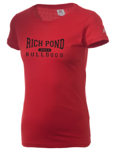 Rich Pond Elementary School Bulldogs  Russell Women's Campus T-Shirt