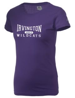 Irvington Elementary School Wildcats  Russell Women's Campus T-Shirt