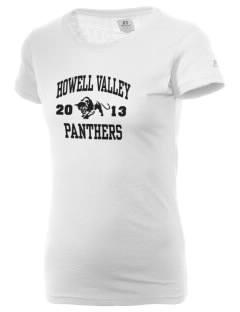 Howell Valley Elementary School Panthers  Russell Women's Campus T-Shirt