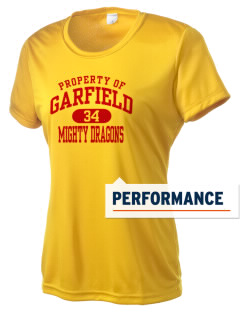 Garfield Elementary School Mighty Dragons Women's Competitor Performance T-Shirt