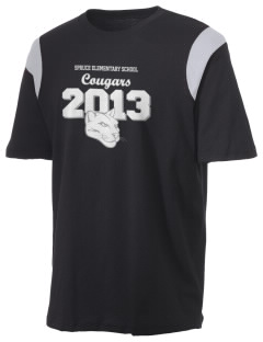Spruce Elementary School Cougars Holloway Men's Rush T-Shirt