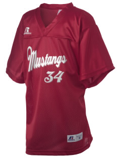 Manton Joint Union School Mustangs Russell Kid's Replica Football Jersey