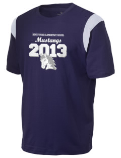 Henry Ford Elementary School Mustangs Holloway Men's Rush T-Shirt