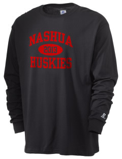 Nashua Elementary School Huskies  Russell Men's Long Sleeve T-Shirt