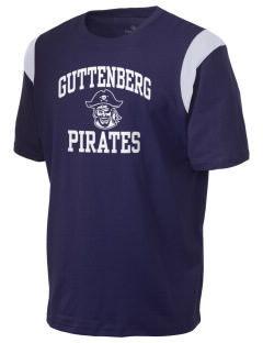 Guttenberg Elementary School Pirates Holloway Men's Rush T-Shirt