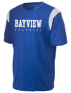 Bayview Elementary School Dolphins Holloway Men's Rush T-Shirt