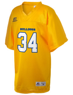 Bridgewater Grammar School Bulldogs Russell Kid's Replica Football Jersey