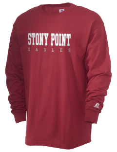 Stony Point Elementary School Eagles  Russell Men's Long Sleeve T-Shirt