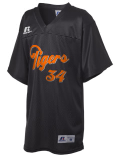Tom Elementary School Tigers Russell Kid's Replica Football Jersey