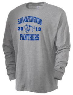 San MartinGwinn School Panthers  Russell Men's Long Sleeve T-Shirt