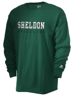 Sheldon Elementary School Grizzlies  Russell Men's Long Sleeve T-Shirt
