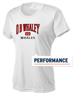 O B Whaley Elementary School Whales Women's Competitor Performance T-Shirt