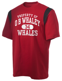 O B Whaley Elementary School Whales Holloway Men's Rush T-Shirt