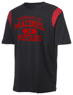 MacDoel Elementary School Mustangs Holloway Men's Rush T-Shirt