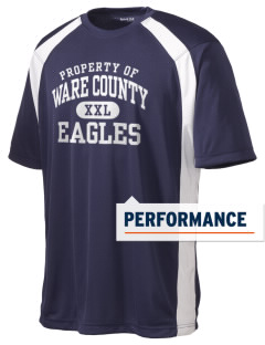Ware County Magnet School Eagles Men's Dry Zone Colorblock T-Shirt