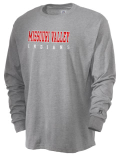 Missouri Valley Middle School Indians  Russell Men's Long Sleeve T-Shirt
