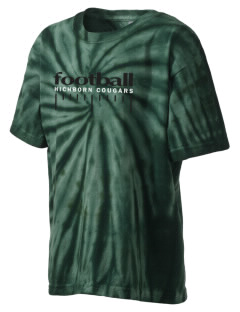 Hichborn Middle School Cougars Kid's Tie-Dye T-Shirt