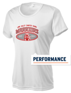 Long Valley Charter School Warriors Women's Competitor Performance T-Shirt