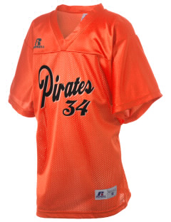 Powell Butte Elementary School Pirates Russell Kid's Replica Football Jersey