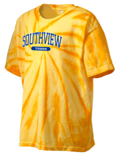 Southview Elementary School Tigers Kid's Tie-Dye T-Shirt