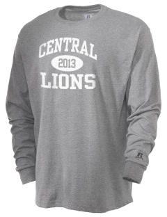 Central Elementary School Lions  Russell Men's Long Sleeve T-Shirt