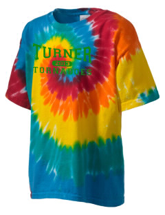 Turner High School Tornadoes Kid's Tie-Dye T-Shirt