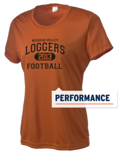 Wishkah Valley School Loggers Women's Competitor Performance T-Shirt