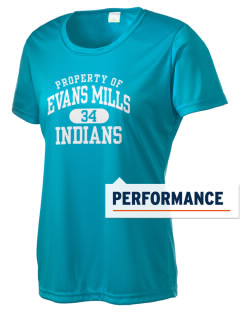 Evans Mills Primary School Indians Women's Competitor Performance T-Shirt