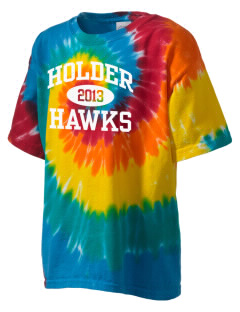 Holder Elementary School Hawks Kid's Tie-Dye T-Shirt