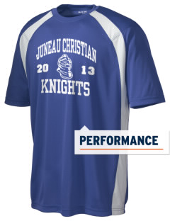 Juneau Christian School Knights Men's Dry Zone Colorblock T-Shirt
